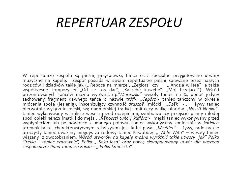 REPERTUAR ZESPOŁU