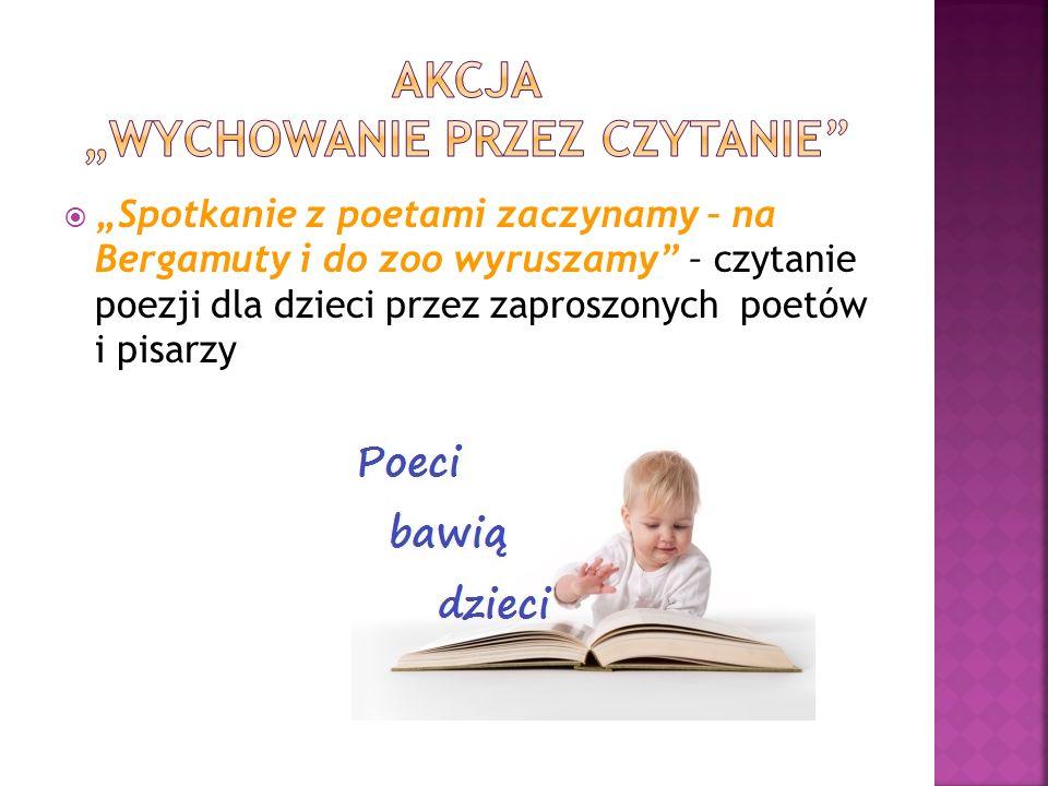 """Akcja """"wychowanie przez czytanie"""