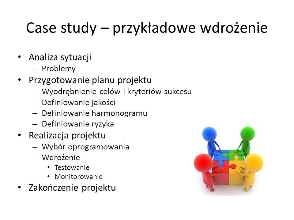 Case study – przykładowe wdrożenie