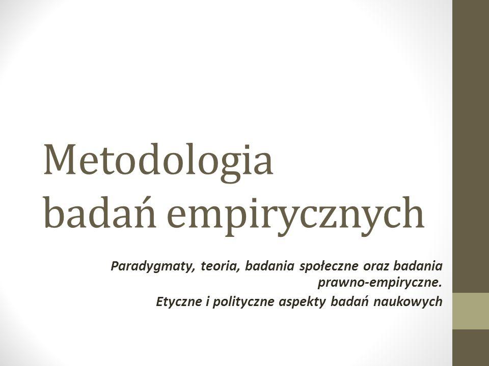 Metodologia badań empirycznych