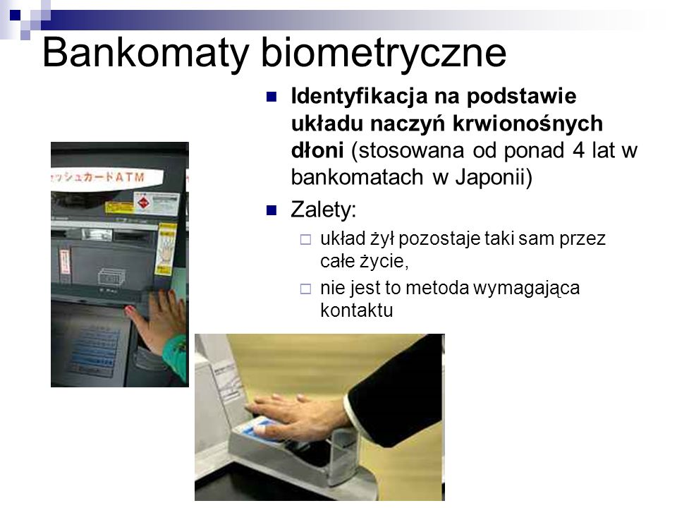 Bankomaty biometryczne