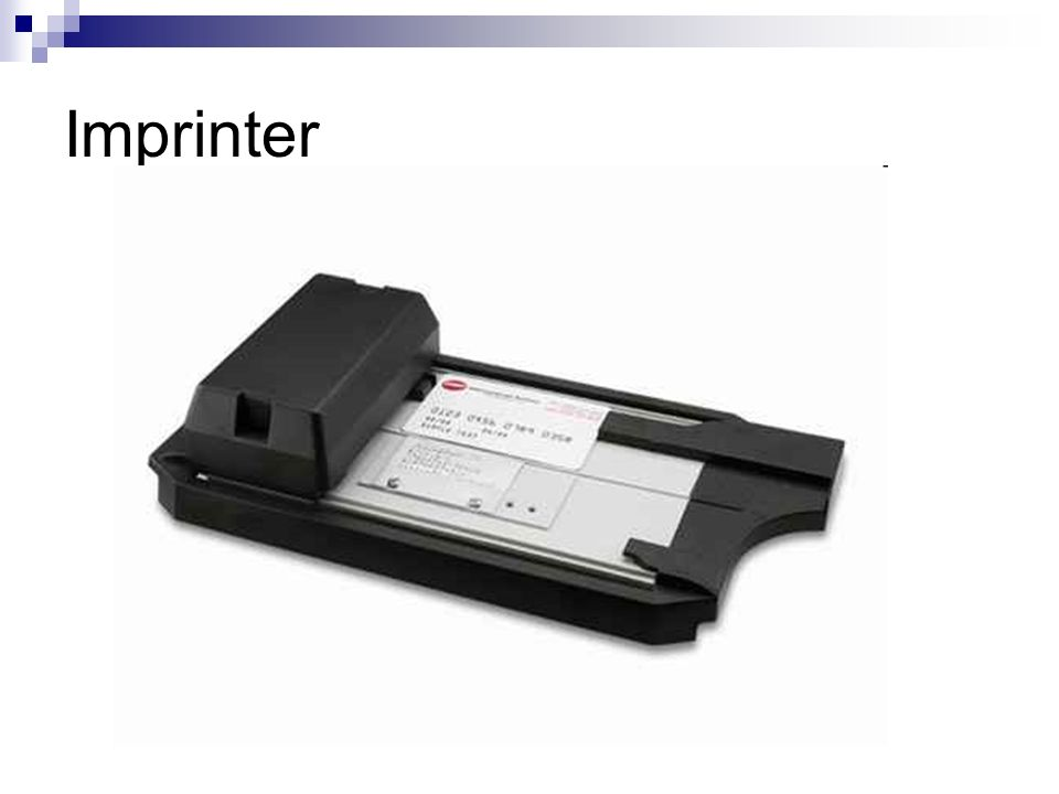 Imprinter