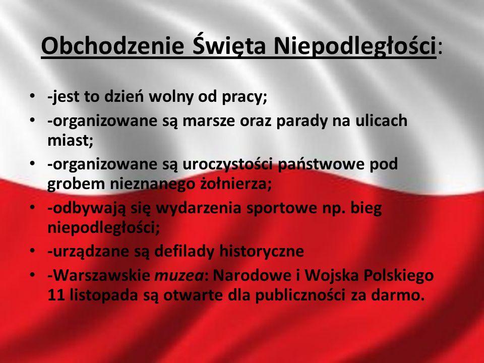 Obchodzenie Święta Niepodległości: