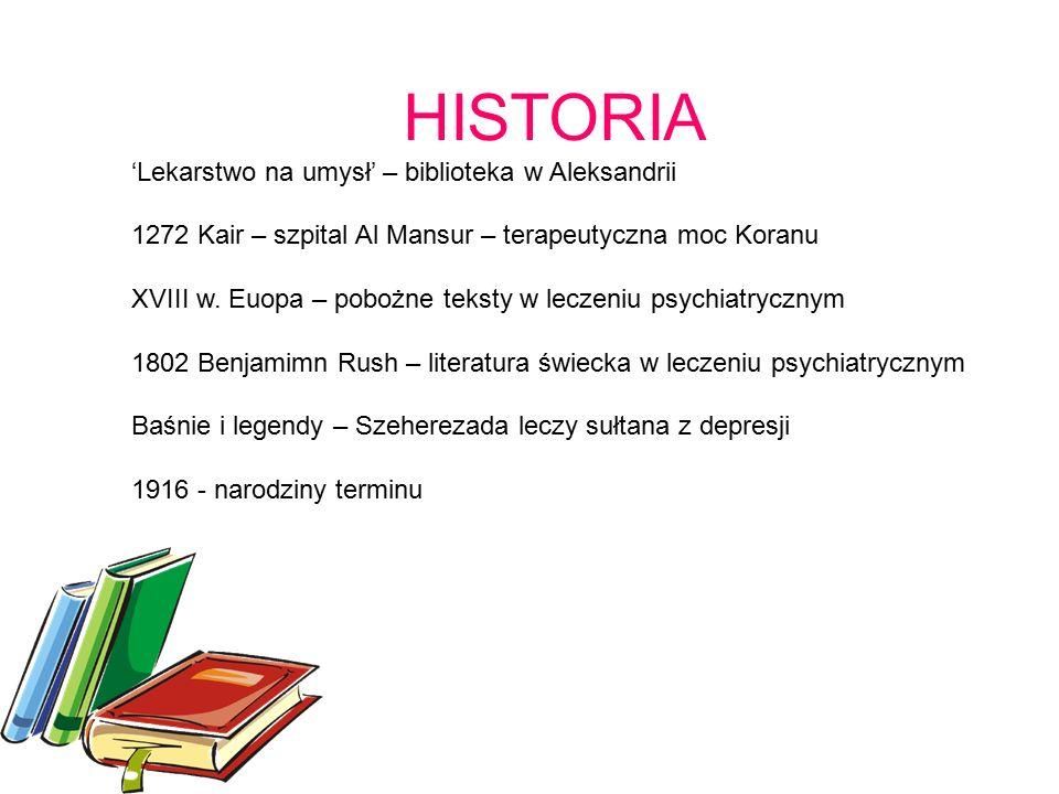 HISTORIA 'Lekarstwo na umysł' – biblioteka w Aleksandrii