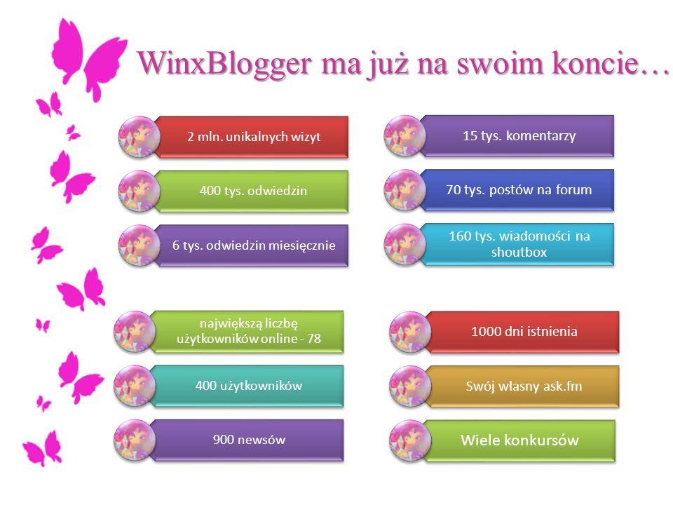 WinxBlogger ma już na swoim koncie…
