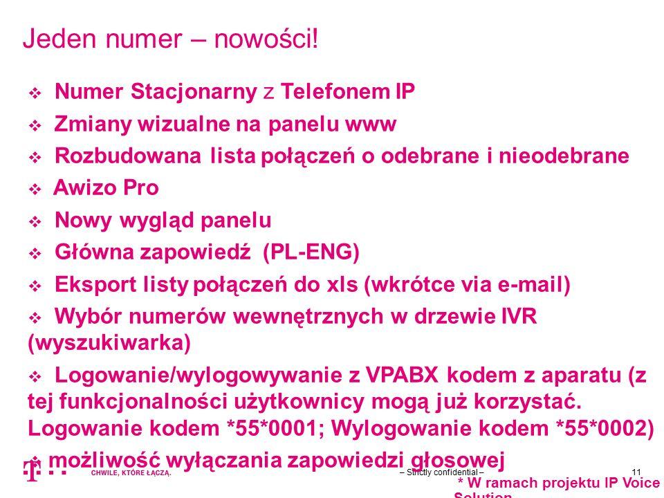 Jeden numer – nowości! Numer Stacjonarny z Telefonem IP