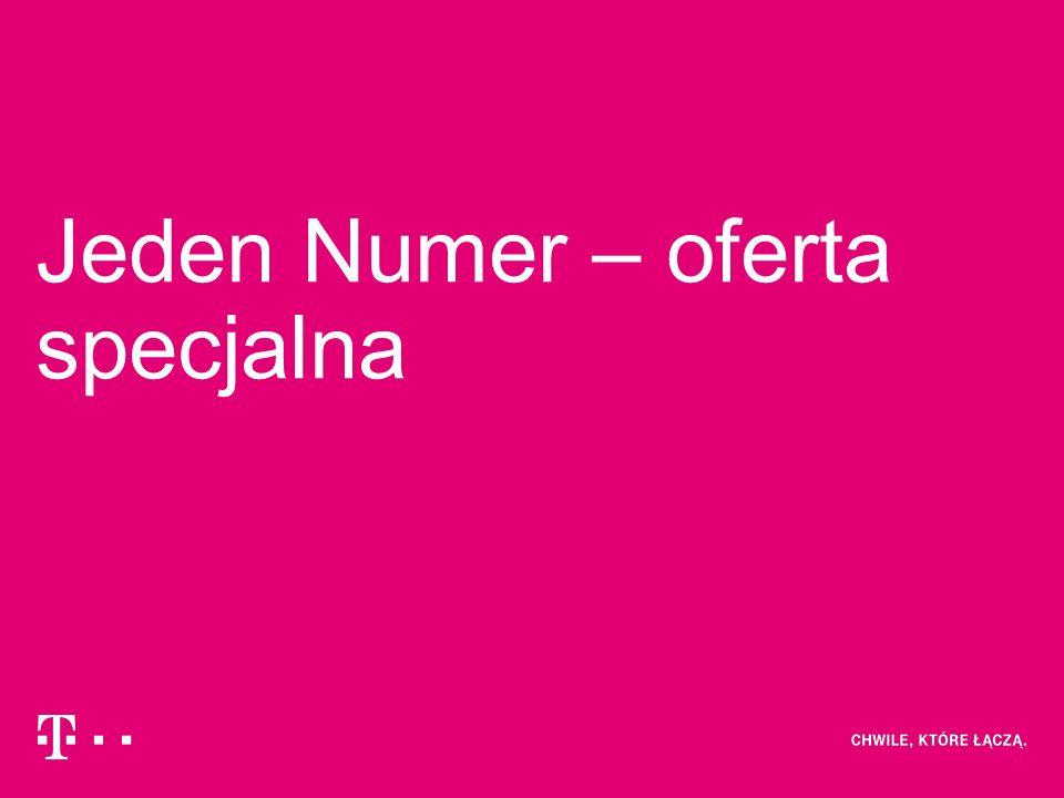 Jeden Numer – oferta specjalna