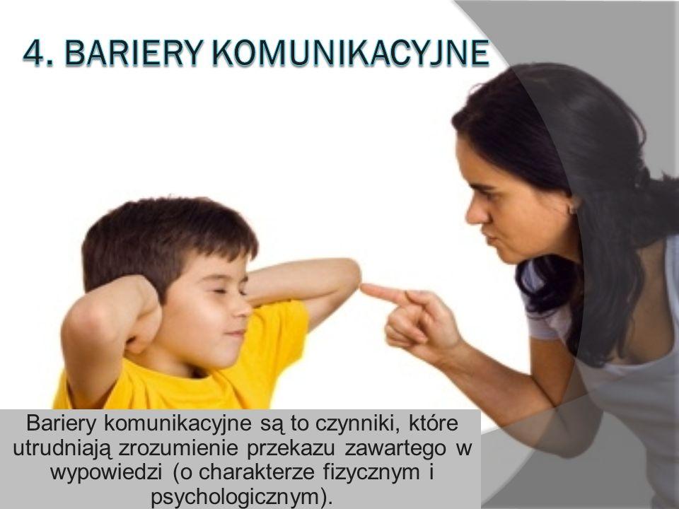4. Bariery komunikacyjne