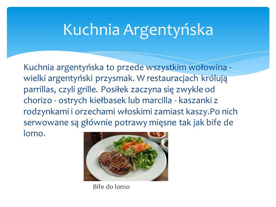 Kuchnia Argentyńska