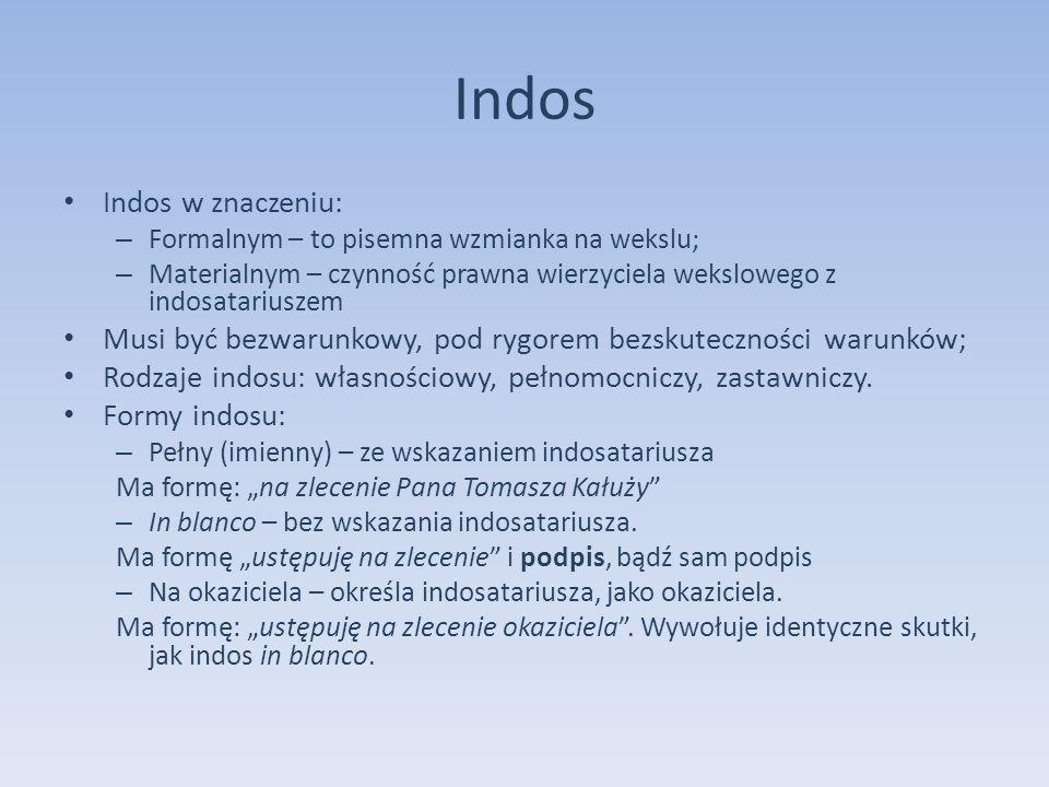 Indos Indos w znaczeniu: