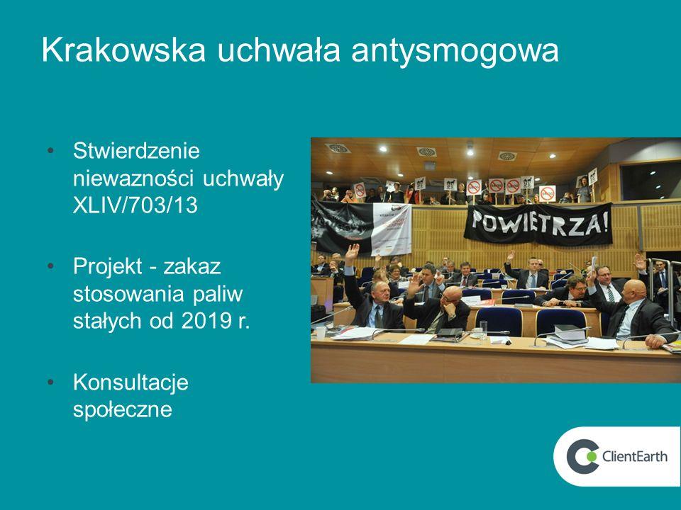 Krakowska uchwała antysmogowa