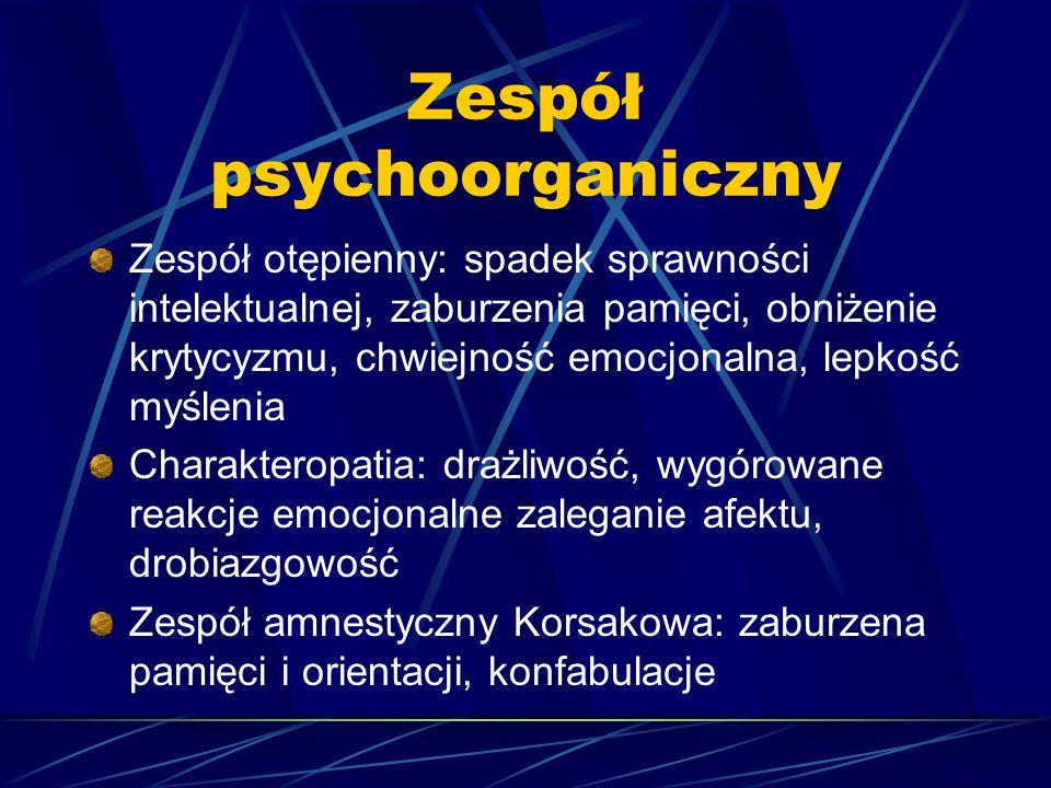 Zespół psychoorganiczny