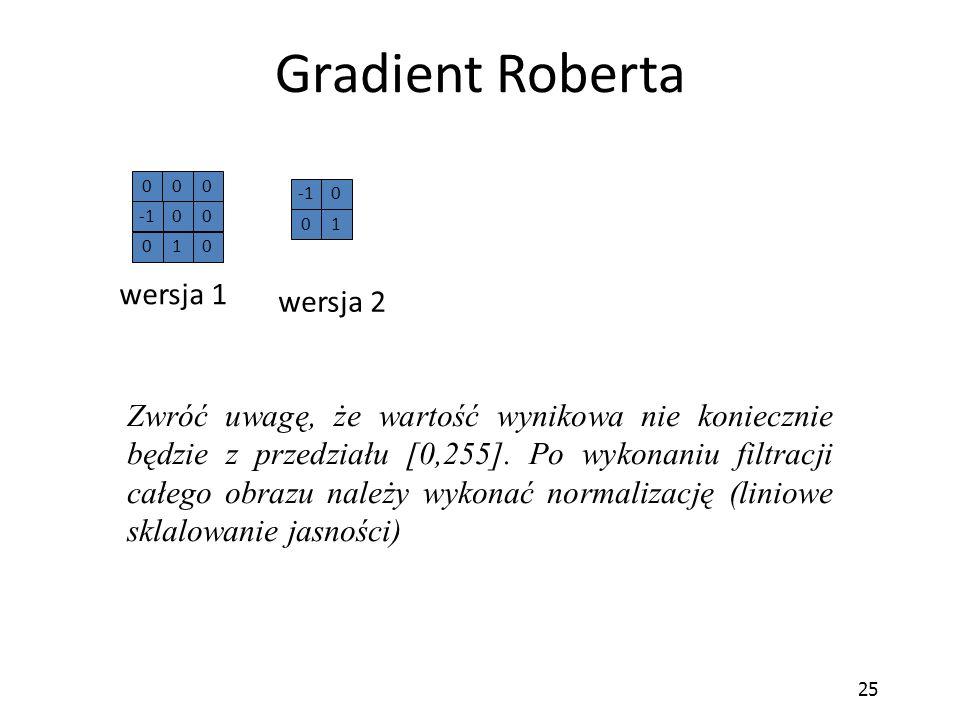 Gradient Roberta wersja 1 wersja 2
