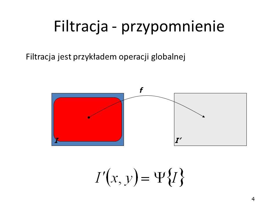 Filtracja - przypomnienie