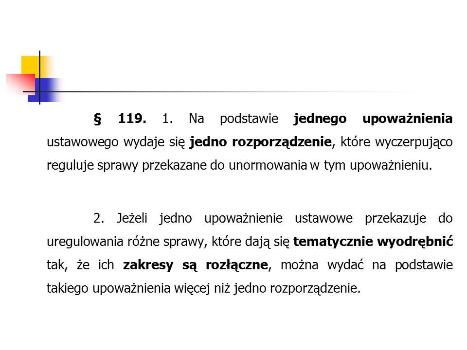 § 119. 1.