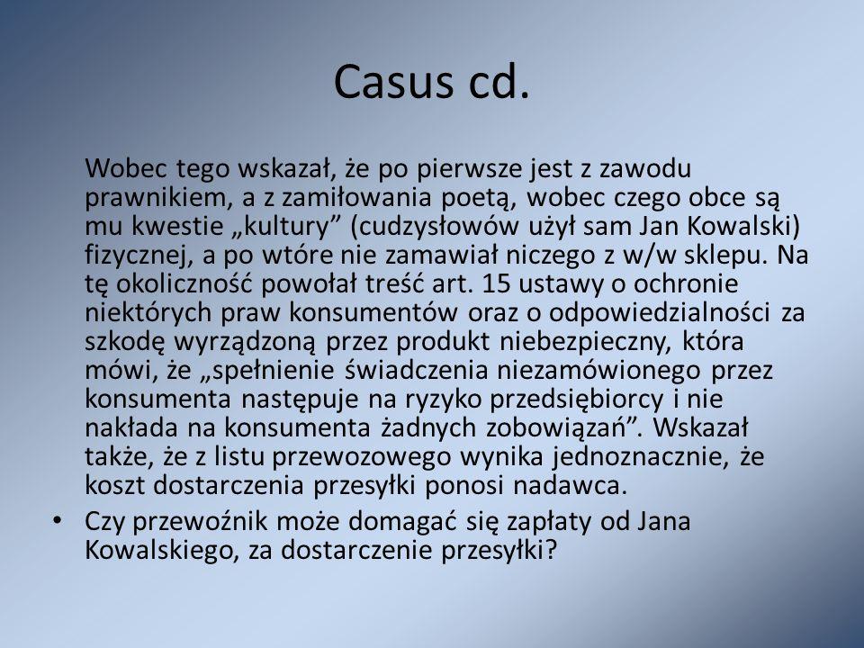 Casus cd.