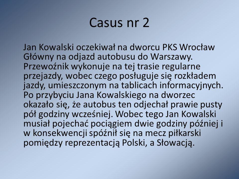 Casus nr 2