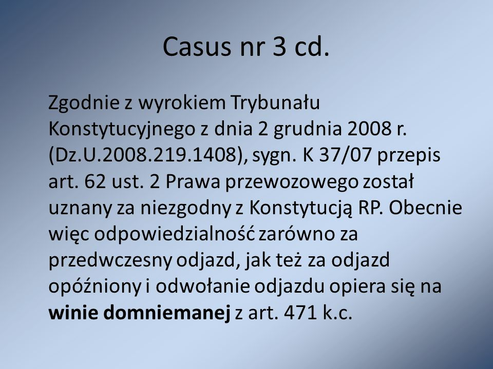Casus nr 3 cd.
