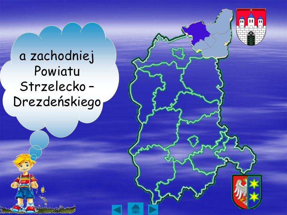 a zachodniej Powiatu Strzelecko – Drezdeńskiego