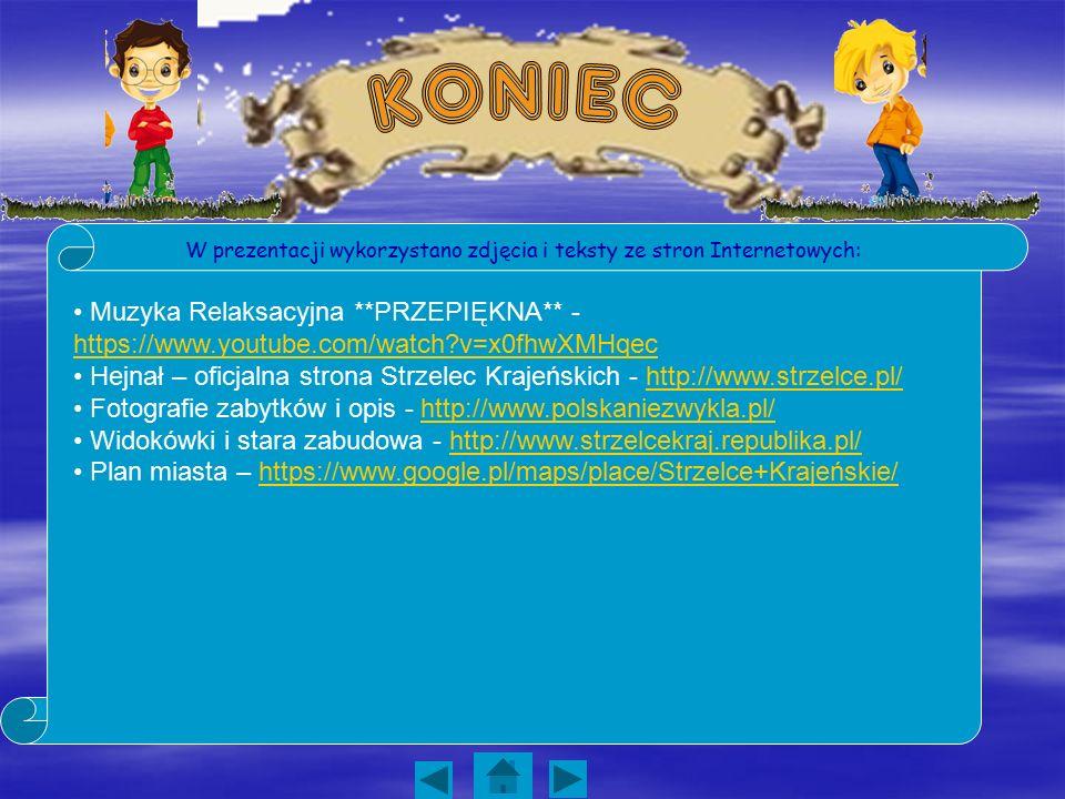 W prezentacji wykorzystano zdjęcia i teksty ze stron Internetowych: