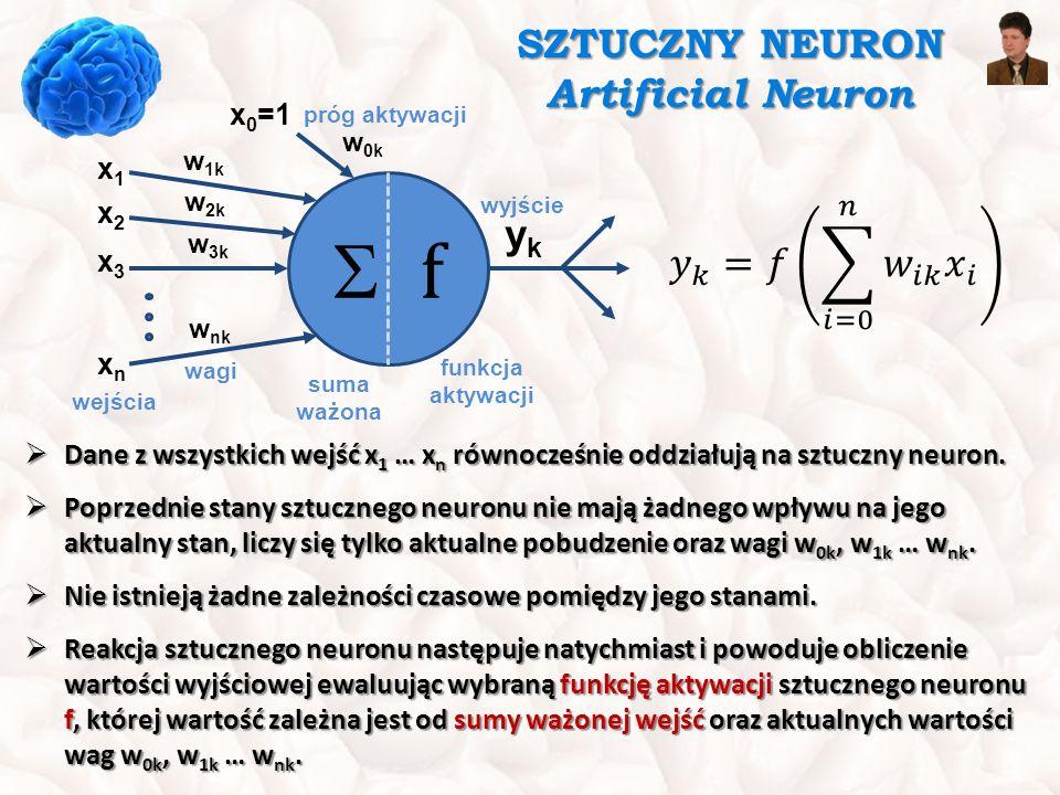 SZTUCZNY NEURON Artificial Neuron
