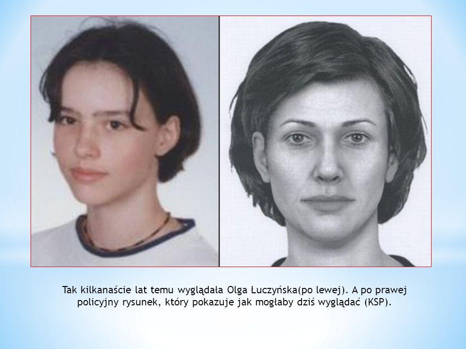 Tak kilkanaście lat temu wyglądała Olga Łuczyńska(po lewej)