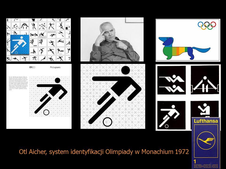 Otl Aicher, system identyfikacji Olimpiady w Monachium 1972