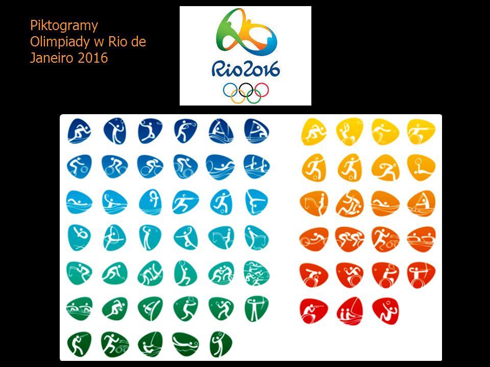 Piktogramy Olimpiady w Rio de Janeiro 2016