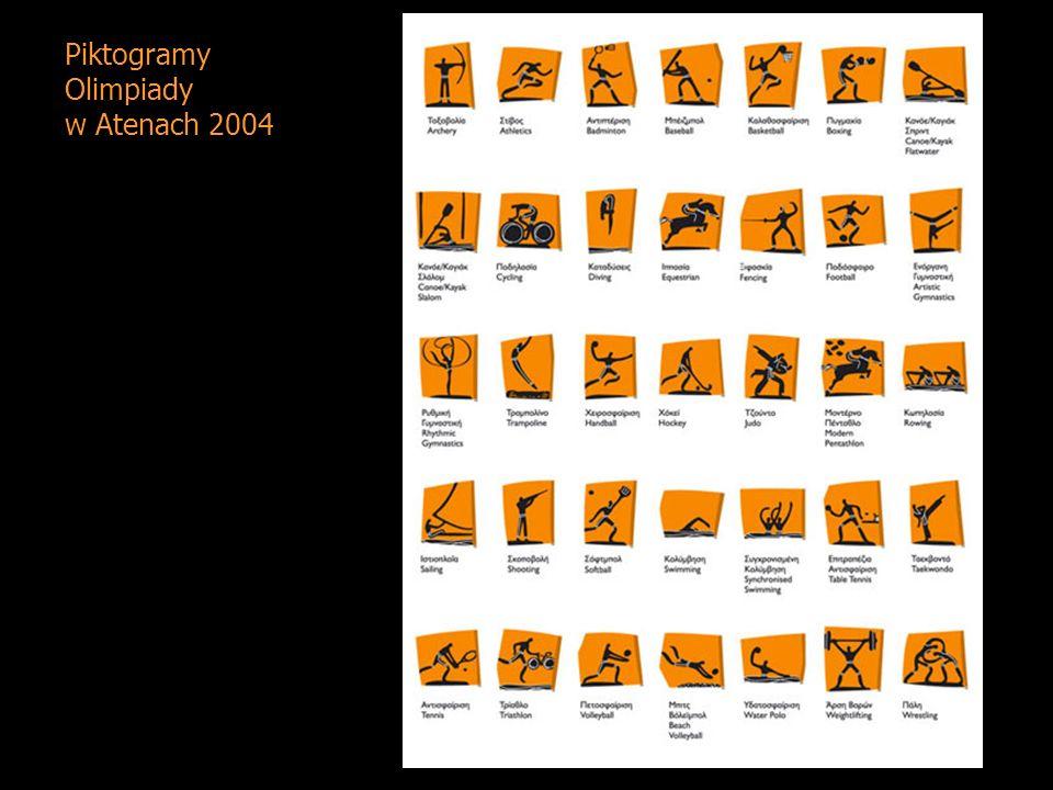 Piktogramy Olimpiady w Atenach 2004