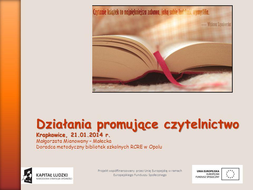 Działania promujące czytelnictwo