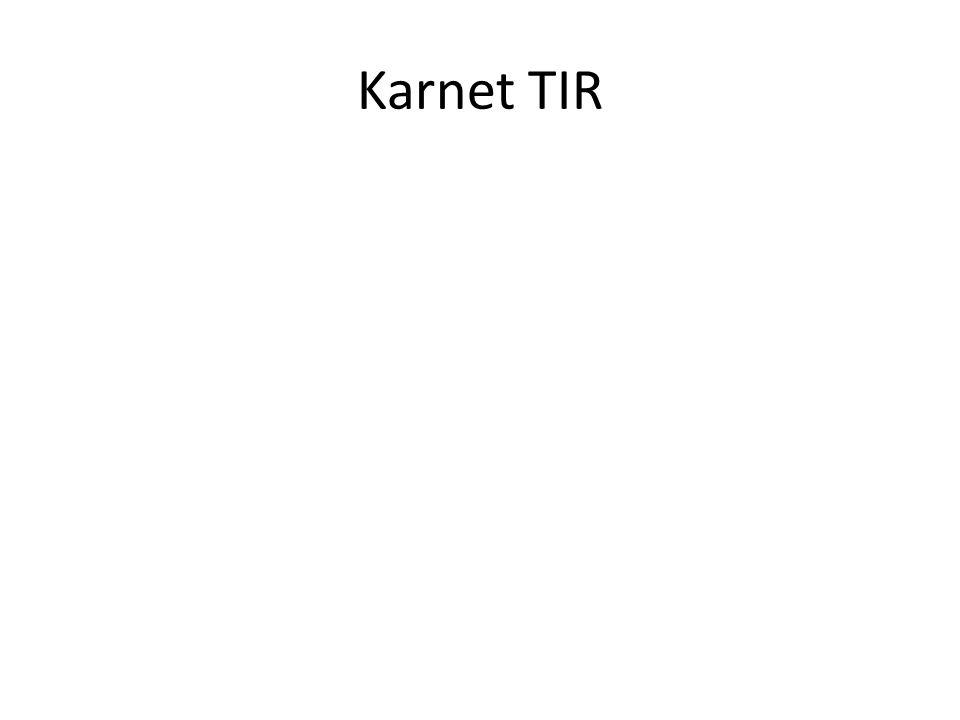 Karnet TIR