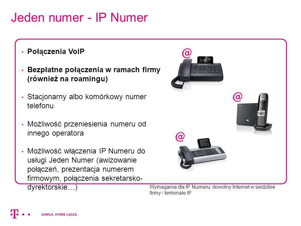 Jeden numer - IP Numer Połączenia VoIP