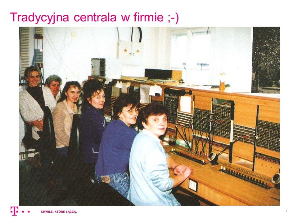 Tradycyjna centrala w firmie ;-)
