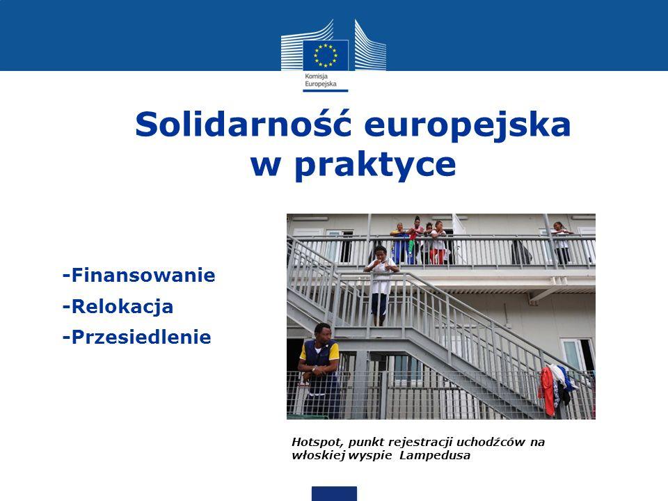 Solidarność europejska w praktyce