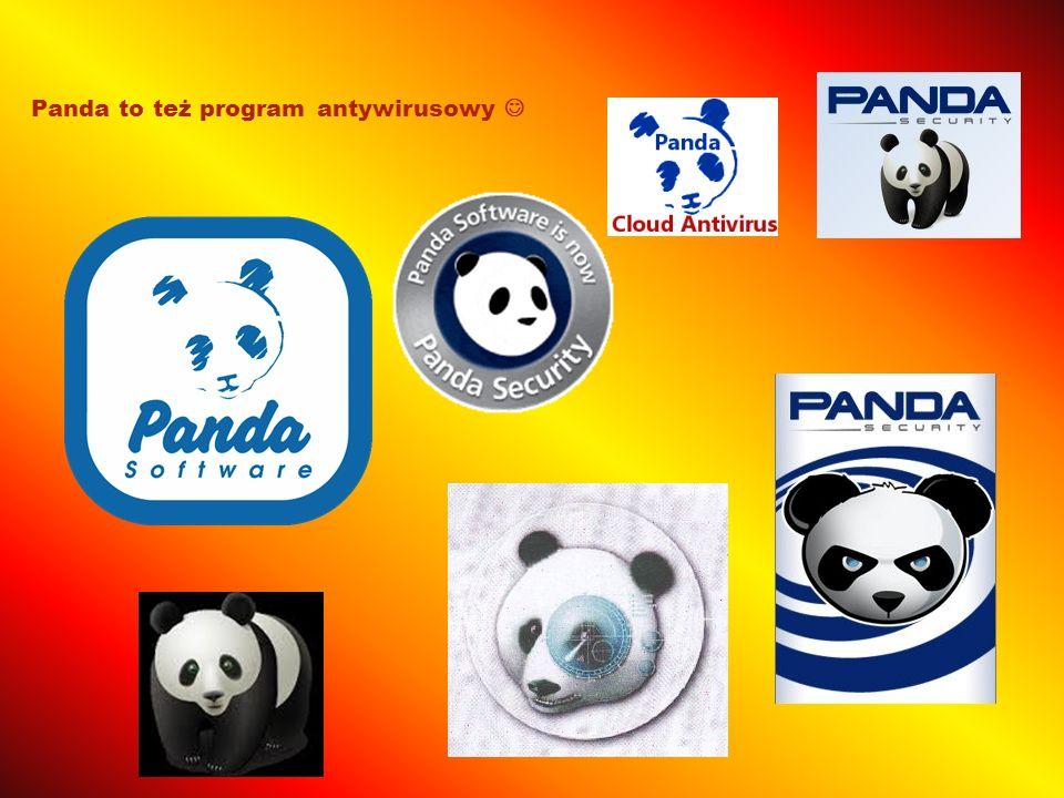 Panda to też program antywirusowy 