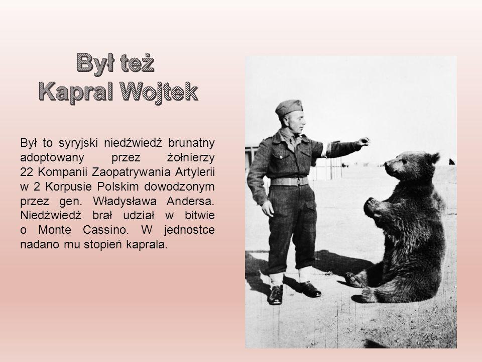 Był też Kapral Wojtek.
