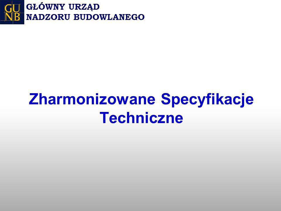 Zharmonizowane Specyfikacje Techniczne