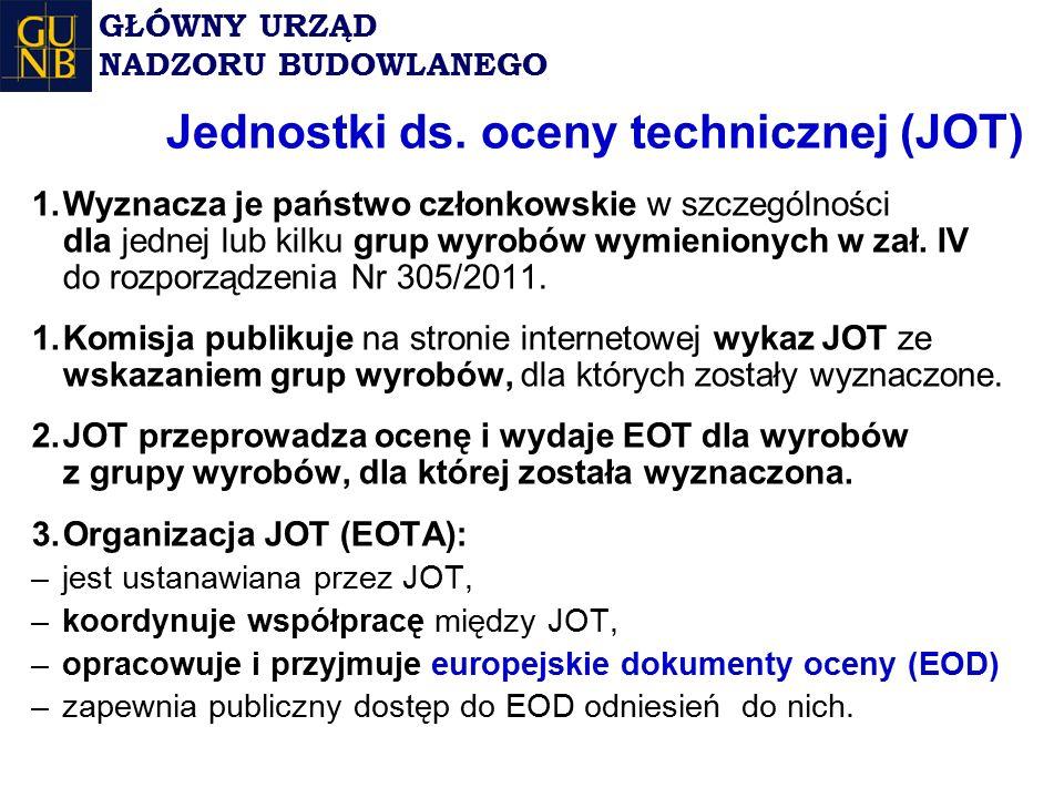 Jednostki ds. oceny technicznej (JOT)