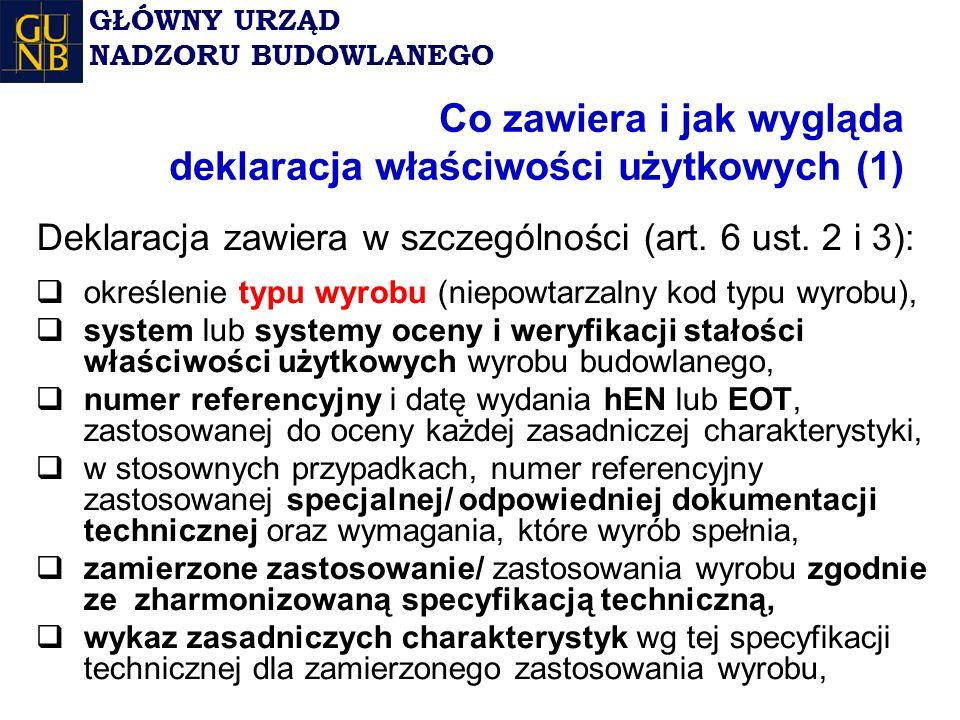 Co zawiera i jak wygląda deklaracja właściwości użytkowych (1)