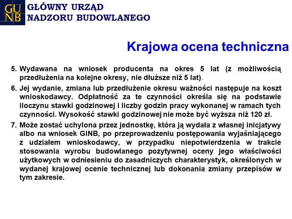 Krajowa ocena techniczna