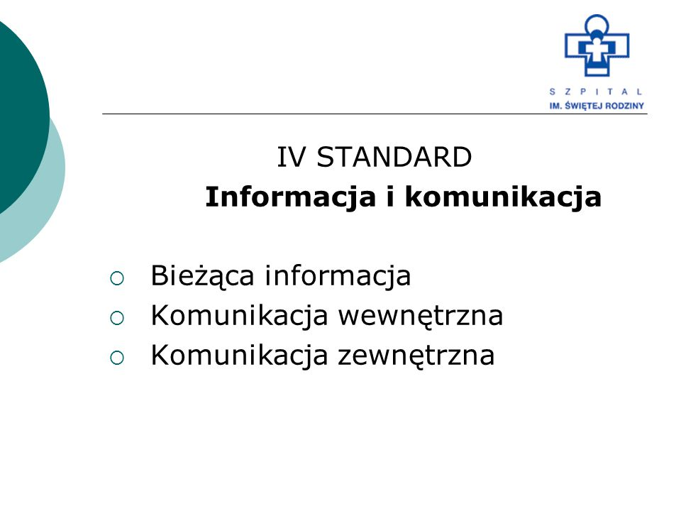 Informacja i komunikacja