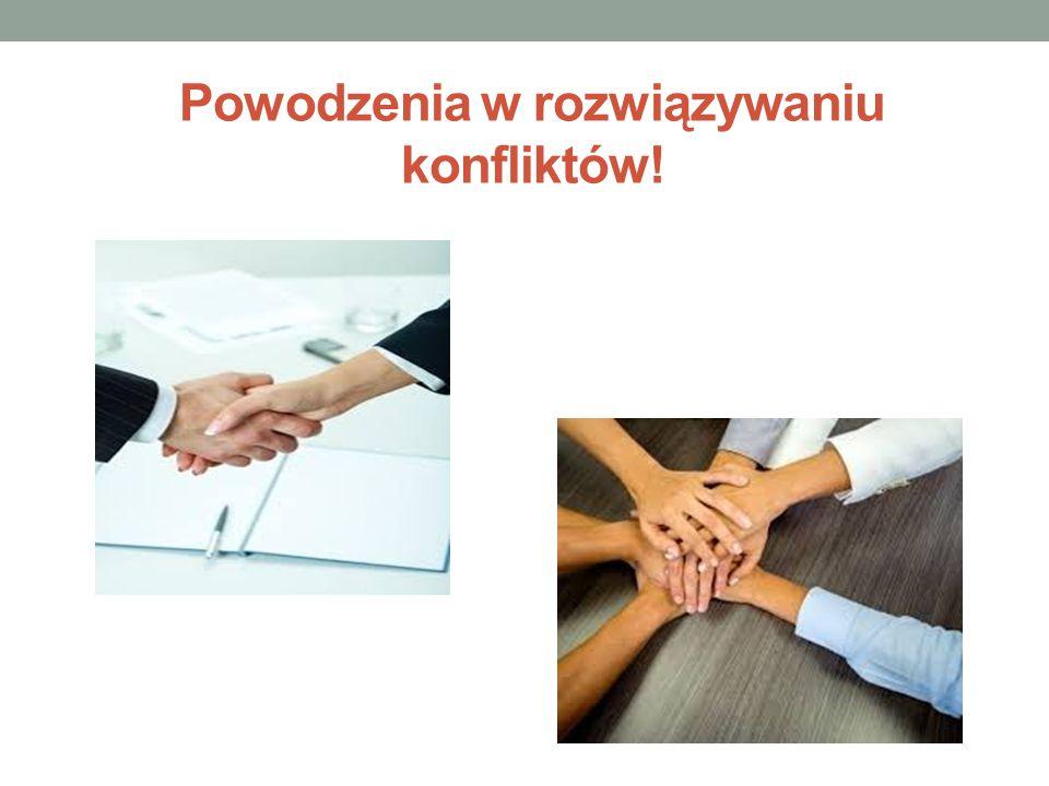 Powodzenia w rozwiązywaniu konfliktów!