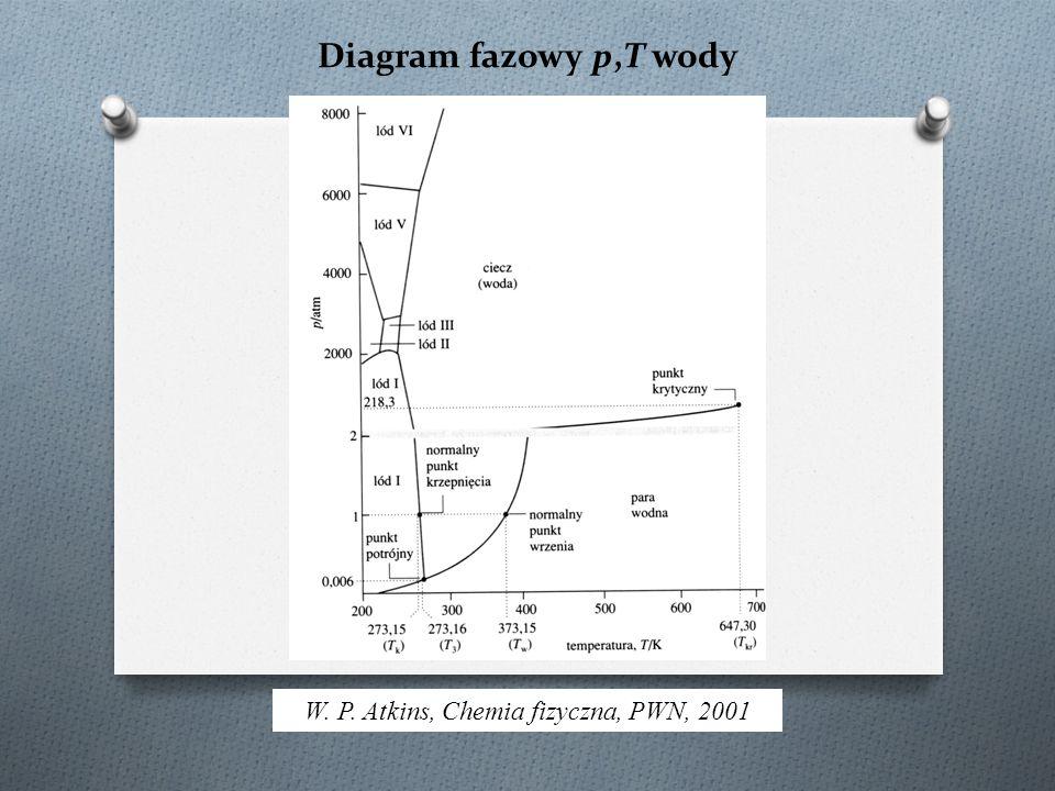 W. P. Atkins, Chemia fizyczna, PWN, 2001