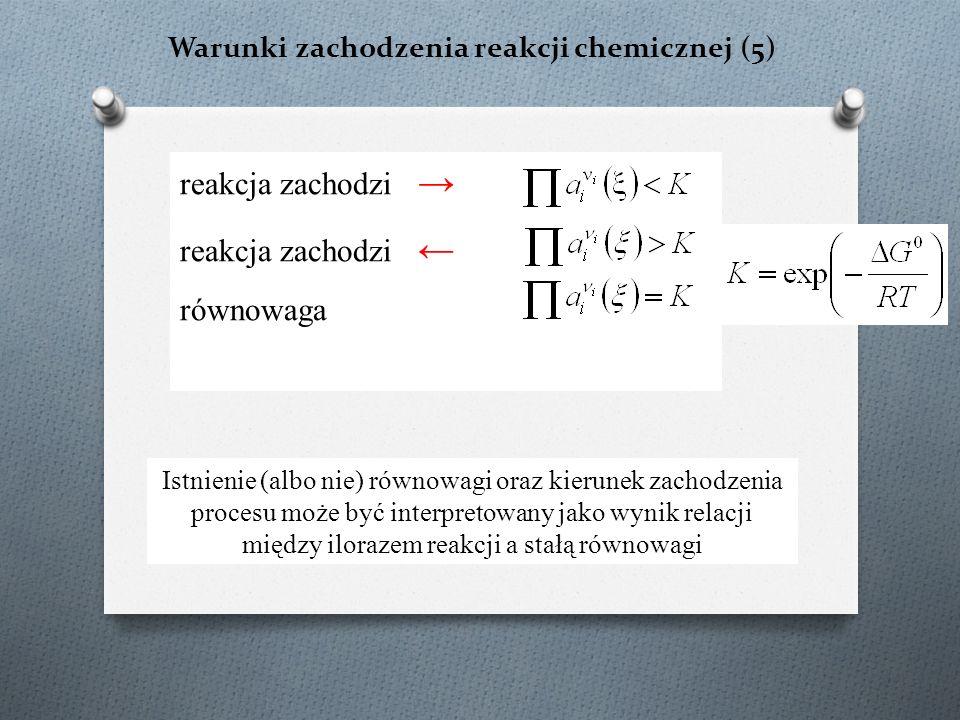 Warunki zachodzenia reakcji chemicznej (5)