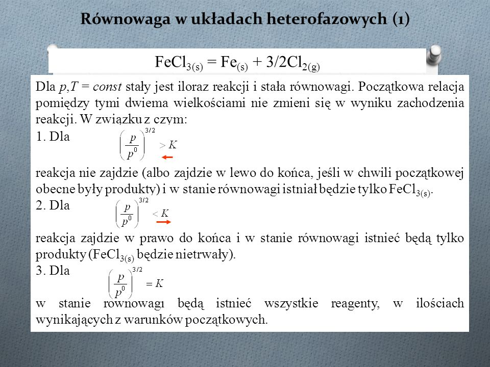 Równowaga w układach heterofazowych (1)