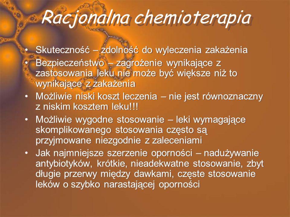 Racjonalna chemioterapia