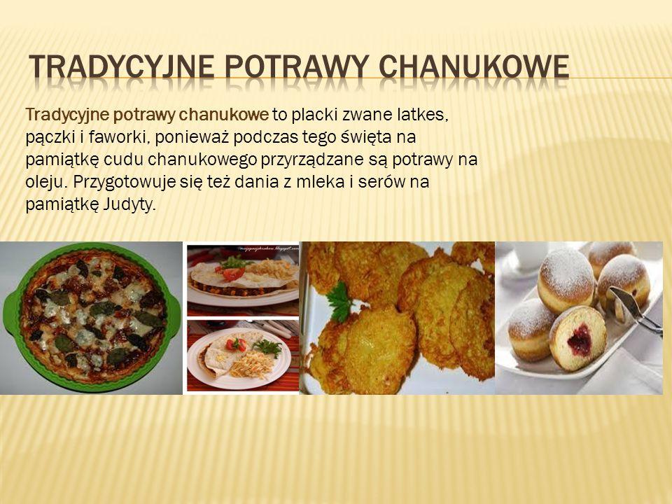 Tradycyjne potrawy chanukowe