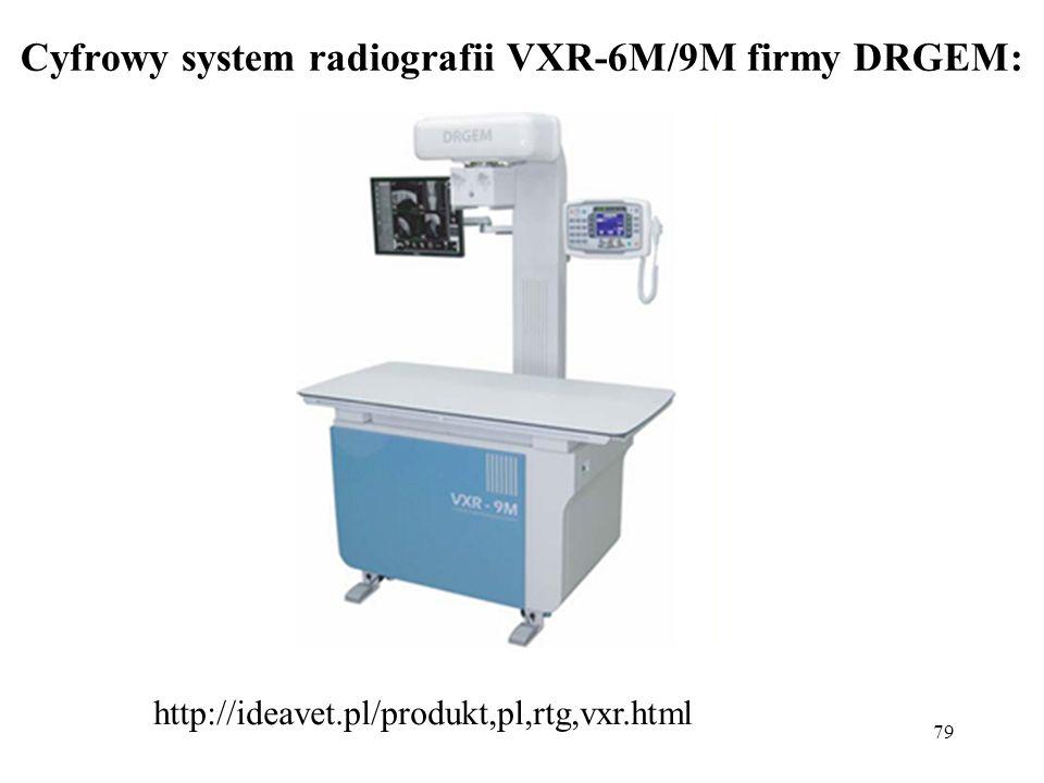 Cyfrowy system radiografii VXR-6M/9M firmy DRGEM:
