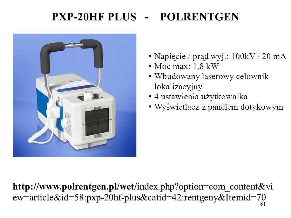 PXP-20HF PLUS - POLRENTGEN
