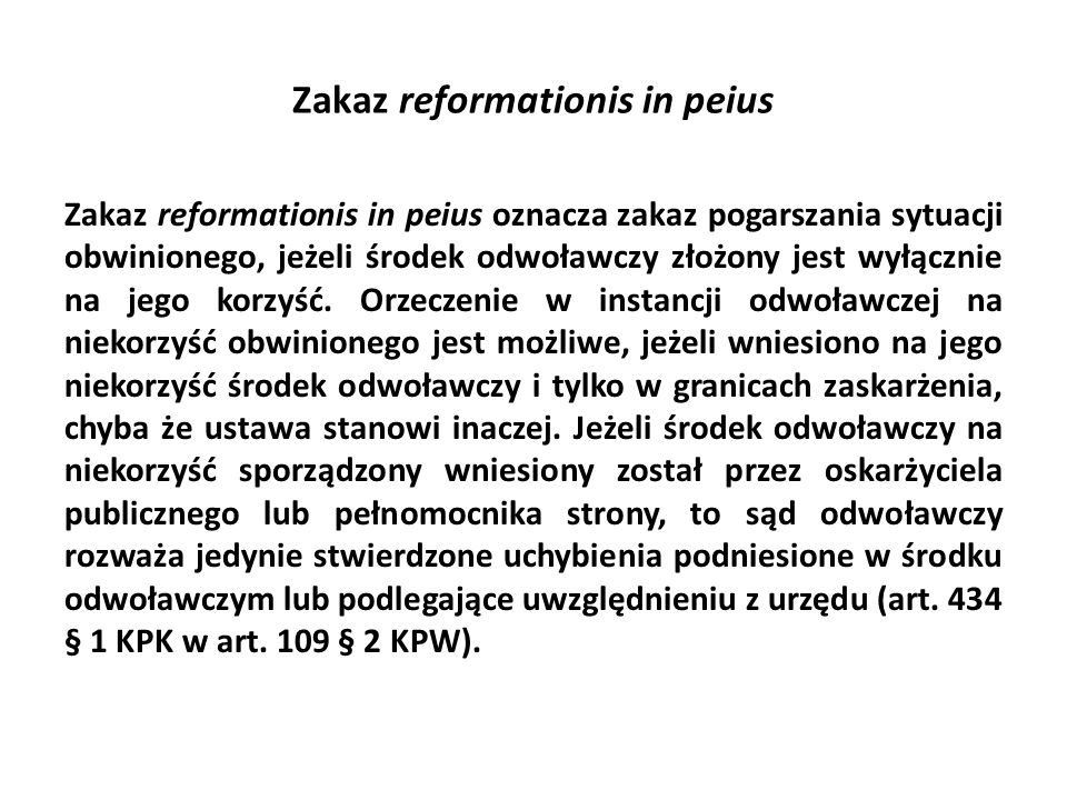 Zakaz reformationis in peius